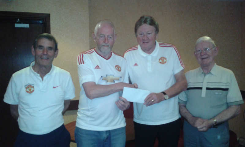 cheque to hospice